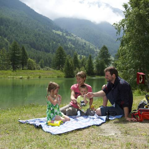 Picknick am Schalisee